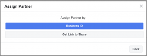 Assign Partner Business ID